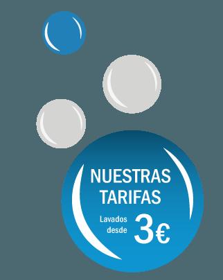 tarifas lavandería autoservicio en Sevilla